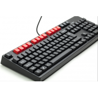 105 key UK layout mechanical USB keyboard, cog logo