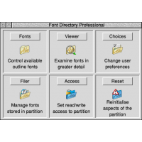 Font Directory Pro + manual