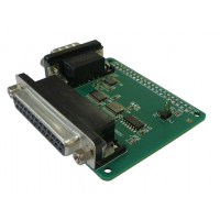 Raspberry Pi serial and parallel port HAT
