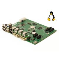 Titanium motherboard + Linux operating system